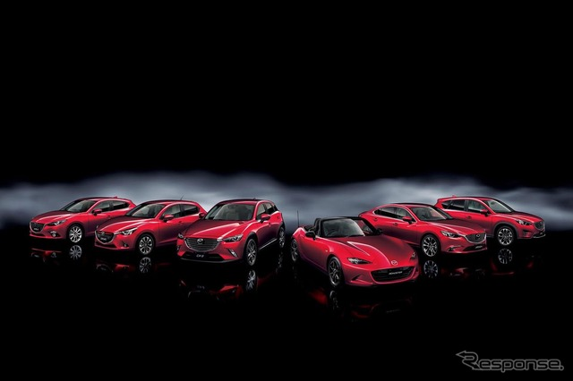 Mazda's new-generation lineup of cars