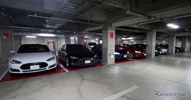 Teslasuprcher the stations