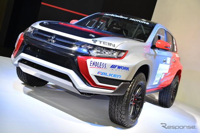 Mitsubishi Outlander PHEV Rally Car (2016 Tokyo Auto Salon)