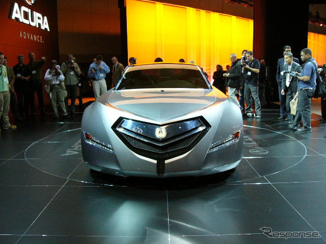 [Los Angeles motor show 06: Acura advanced sedan concept