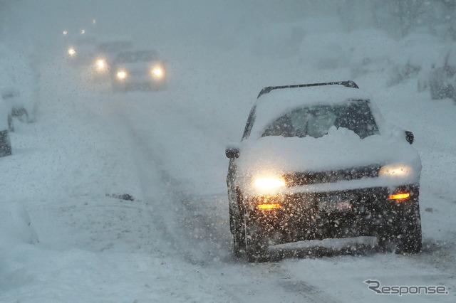 Snow scene (image)