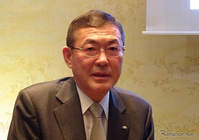 Fuji heavy industries (Subaru) President Yasuyuki Yoshinaga