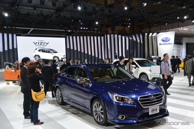 Tokyo Motor Show 2015 Fuji heavy industries booth