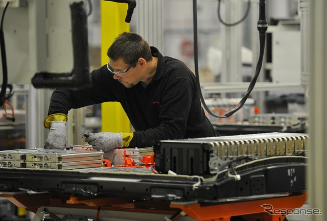 Nissan's UK battery plant