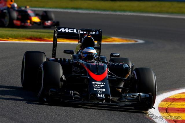 McLaren-Honda, this season 2/21 Announces machine (photo by the year 2015)