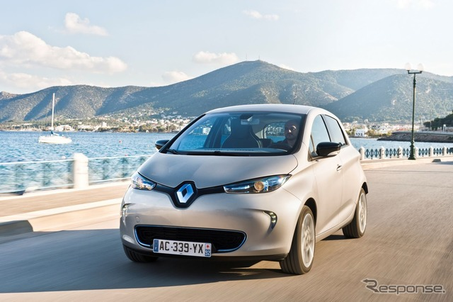 Improved model of the Renault ZOE