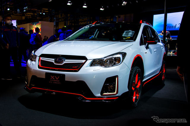 Subaru XV hybrid STI concept (Tokyo Auto Salon 16)