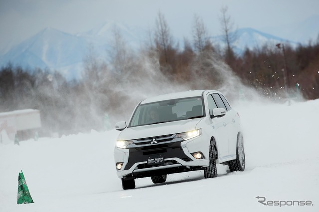 Mitsubishi Outlander PHEV (picture is the model)