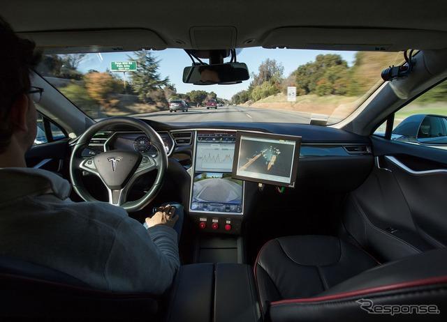 Bosch public road self-driving test