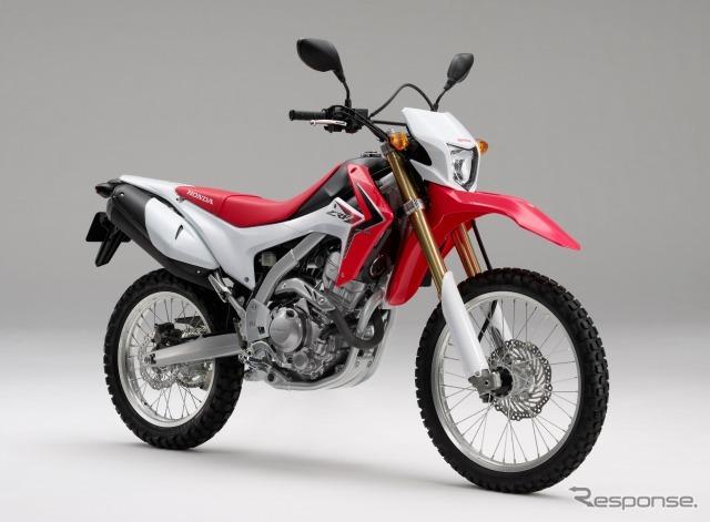 Honda CRF250L (extreme red)