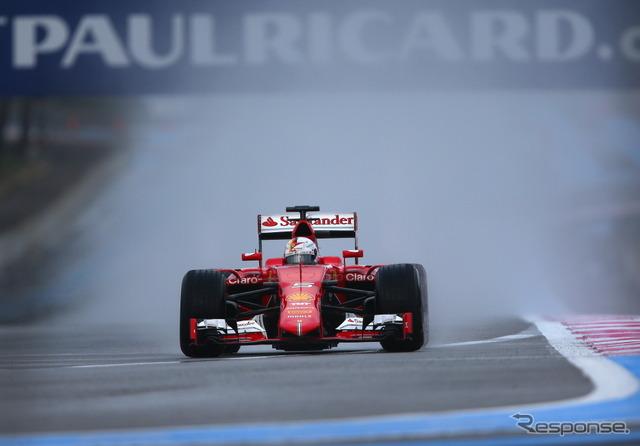 Pirelli wet tyre test day 2