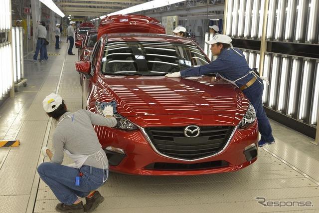 Mazda Mexico Factory MMVO