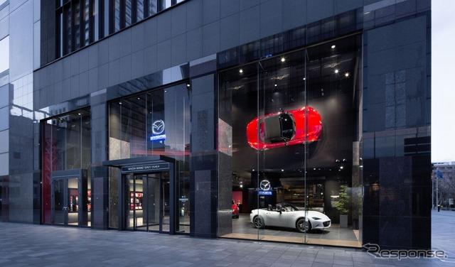 Mazda brand space Osaka