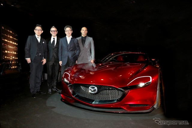 """Mazda RX-Vision named the winner of """"Most Beautiful Concept Car of the Year Award"""""""