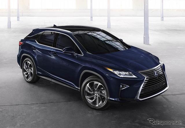 New Lexus RX