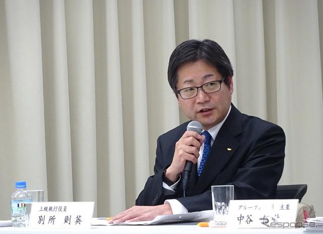 Daihatsu bessho norihide Senior Executive Officer