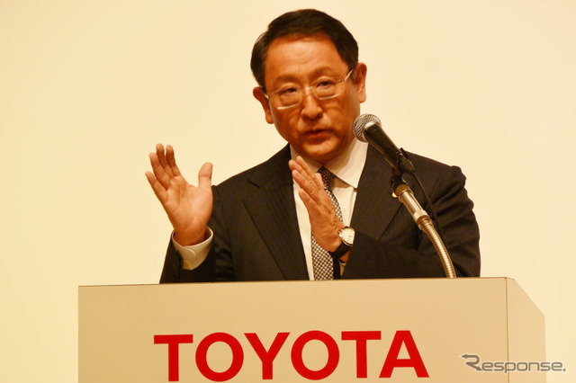 Akio Toyoda, Toyota Motor Corp.