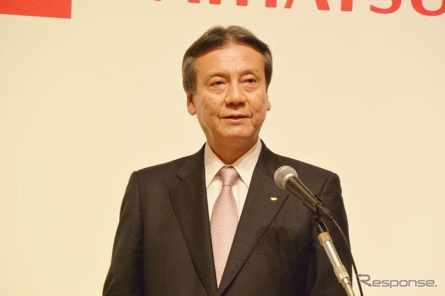Daihatsu Industries President Masanori Mitsui