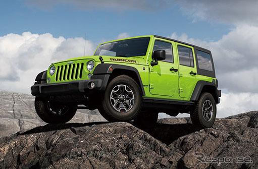 Jeep Wrangler Unlimited Rubicon rock