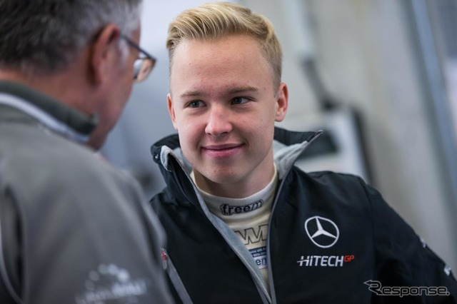 Nikita mazepin signed Force India at the age of 16