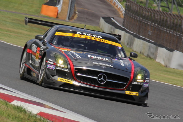 GAINER announced the 2016 SUPER GT Racing system (picture the 2015 season)