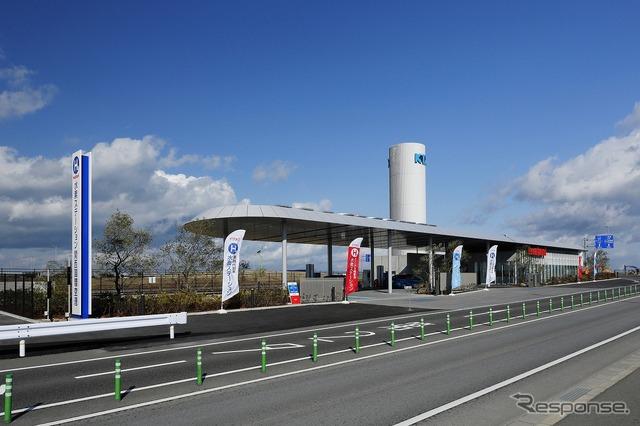 Kansai International Airport, Iwatani hydrogen station