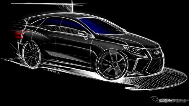 Lexus CT next-generation rendering image