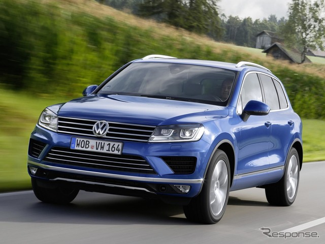 New diesel vehicles of the Volkswagen Touareg