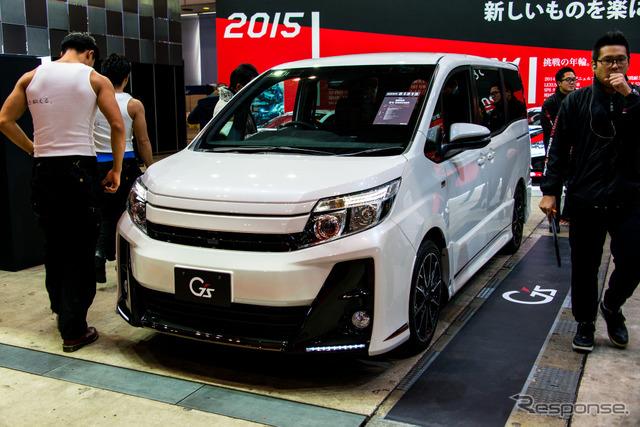 Toyota Noah G's concept (Tokyo Auto Salon 16)