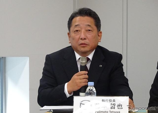 Wakil Presiden Senior bidang Mazda Fujimoto Tetsuya