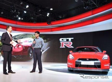 Nissan GT-R (2016 Delhi Motor Show)