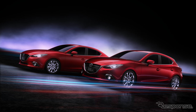 Mazda Axela Chinese version