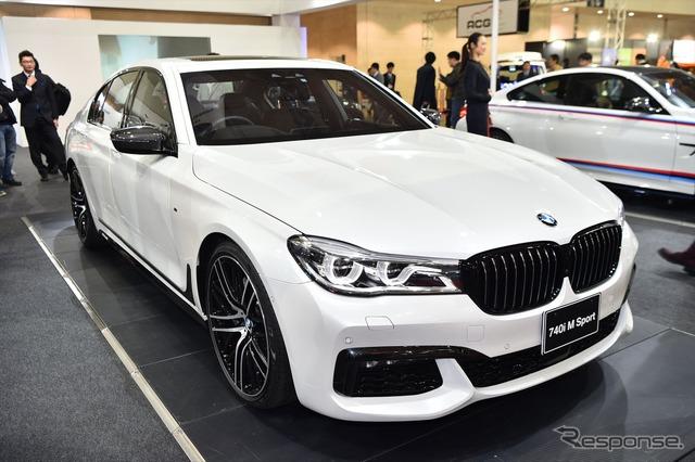 BMW 740i M Sport (Tokyo Auto Salon 16)