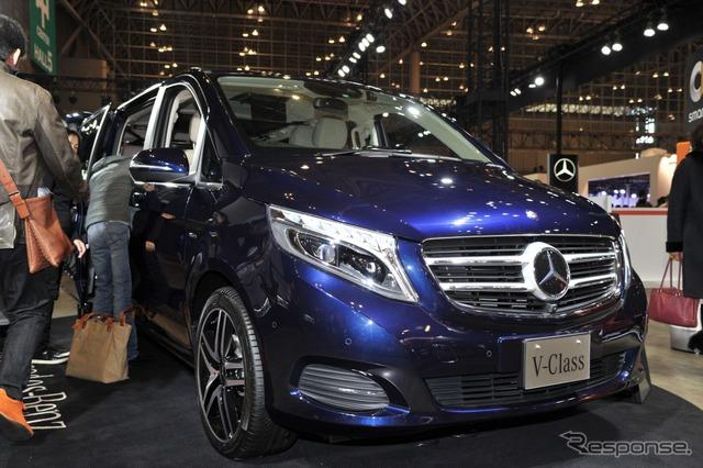 Mercedes-Benz V220d avant garde long (Tokyo Auto Salon 16)