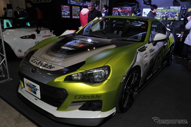 Trust GReddy T620Z high-performance BRZ (Tokyo Auto Salon 16)