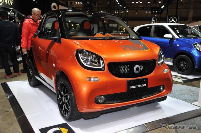 Smart Fortwo Edition 1 lava orange / black (Tokyo Auto Salon 16)