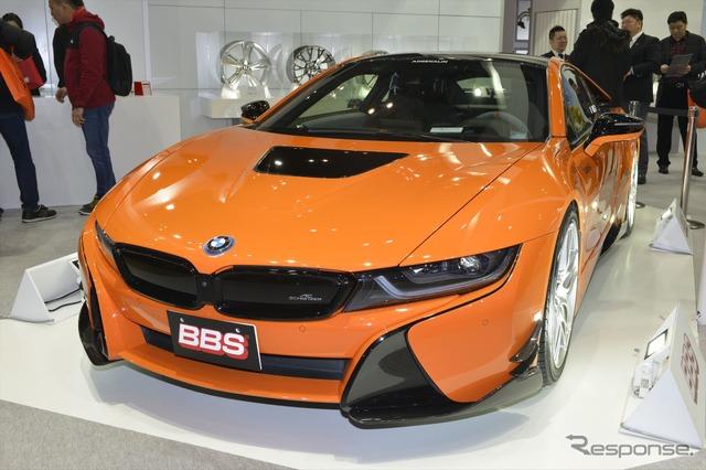BBS Japan BMW i8 (Tokyo Auto Salon 16)