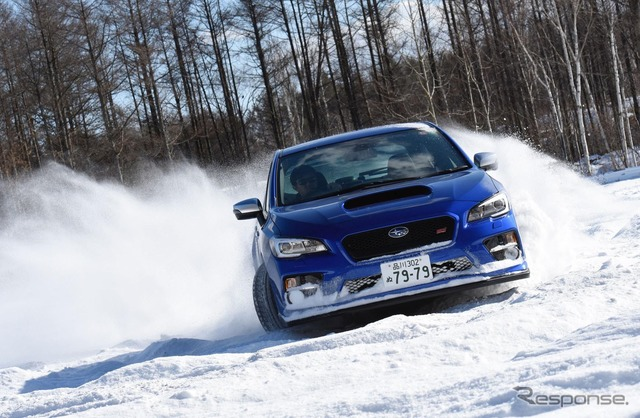 Experience the Subaru AWD with snow in Hokkaido, Japan