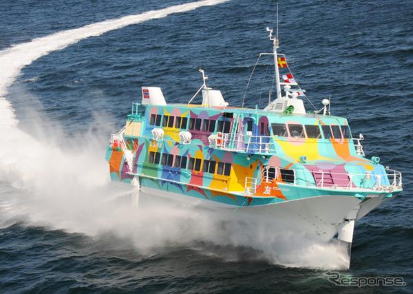 Seven island friends jet boats