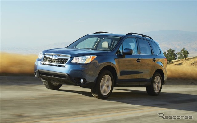 Subaru Forester (2016, North American spec)