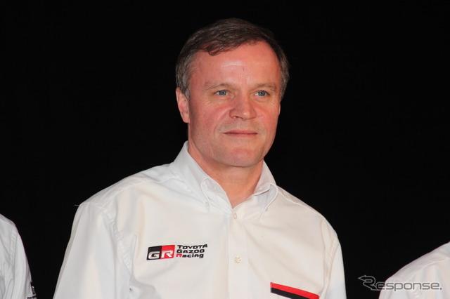 MAKINEN, President Toyota WRC Team
