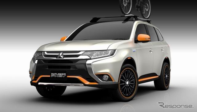 Concepto de equipo Mitsubishi Outlander PHEV