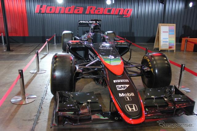 """McLaren Honda in Osaka auto Messe """"MP4-30"""""""