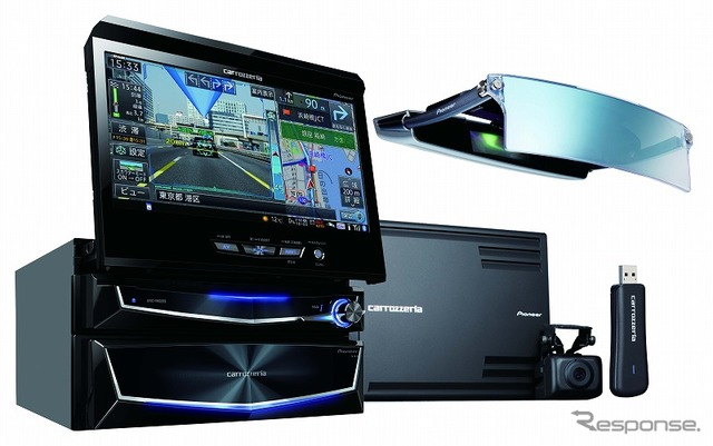 Pioneer Carrozzeria Cyber Navi (the reference image)