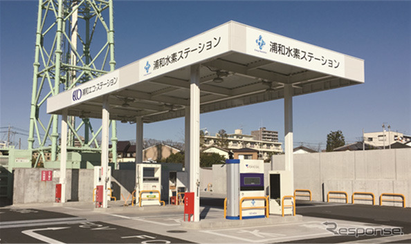Urawa hydrogen station