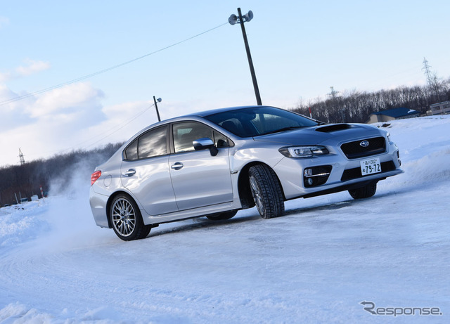 "Experience the Subaru AWD with snow WRX S4 ""VTD (variable torque distribution) system"" photos"