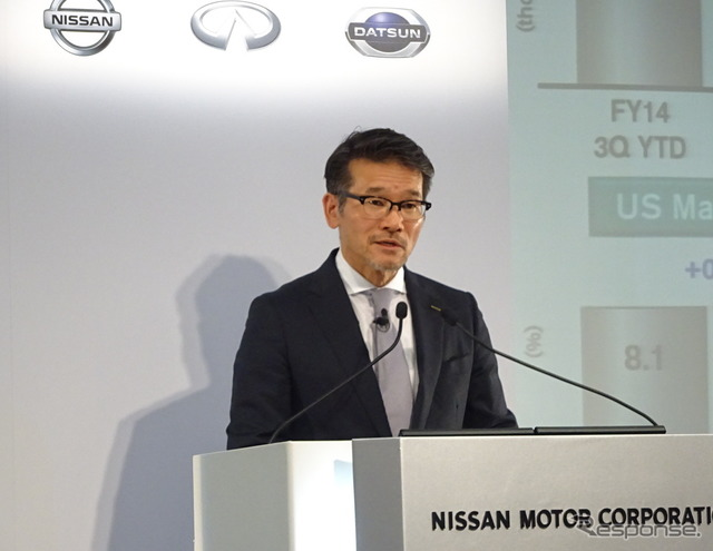 Executive Officer, Nissan Motor Tagawa Joji