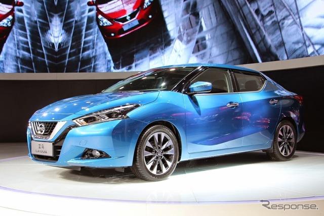 Nissan Lanier (the Shanghai motor show 15)