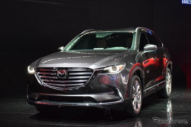 Mazda CX-9 new (Los Angeles motor show 15)
