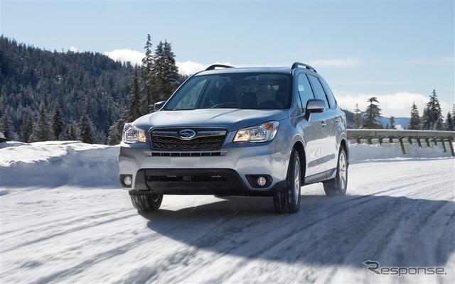 Subaru Forester (2016, North American spec)